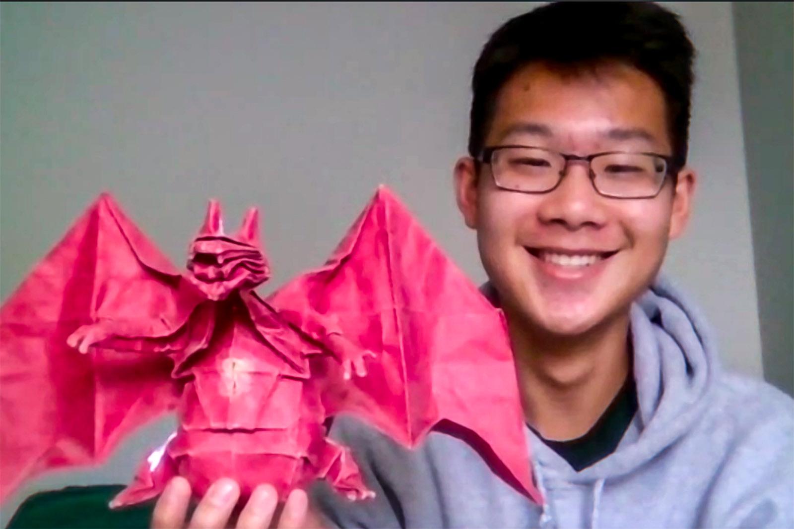 Origami Human Figure | Origami Yoda | 1067x1600
