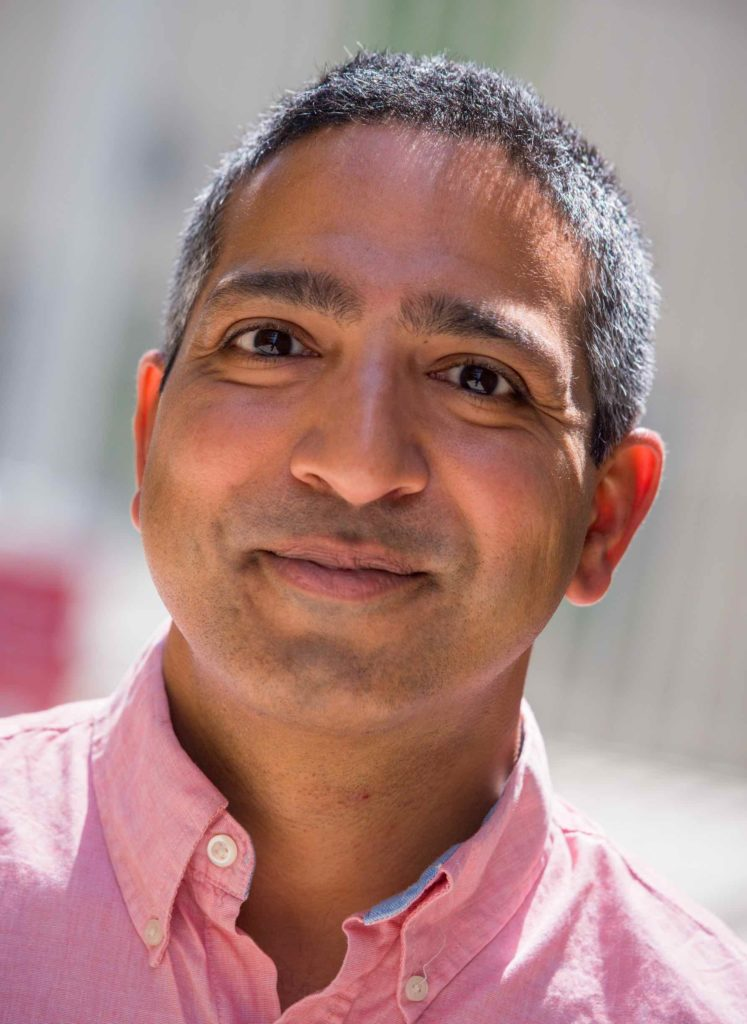 Manish Butte, an immunology professor, is a co-investigator off the project. He said the most important aspect of the project is the collaborative effort, something that is rarely seen in academia. (Courtesy Manish Butte)