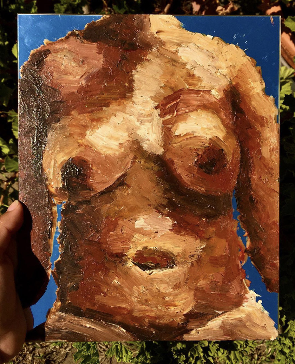 Metro art naked women Student Uses Heritage In Art To Challenge Beauty Standards Tackle Social Issues Daily Bruin