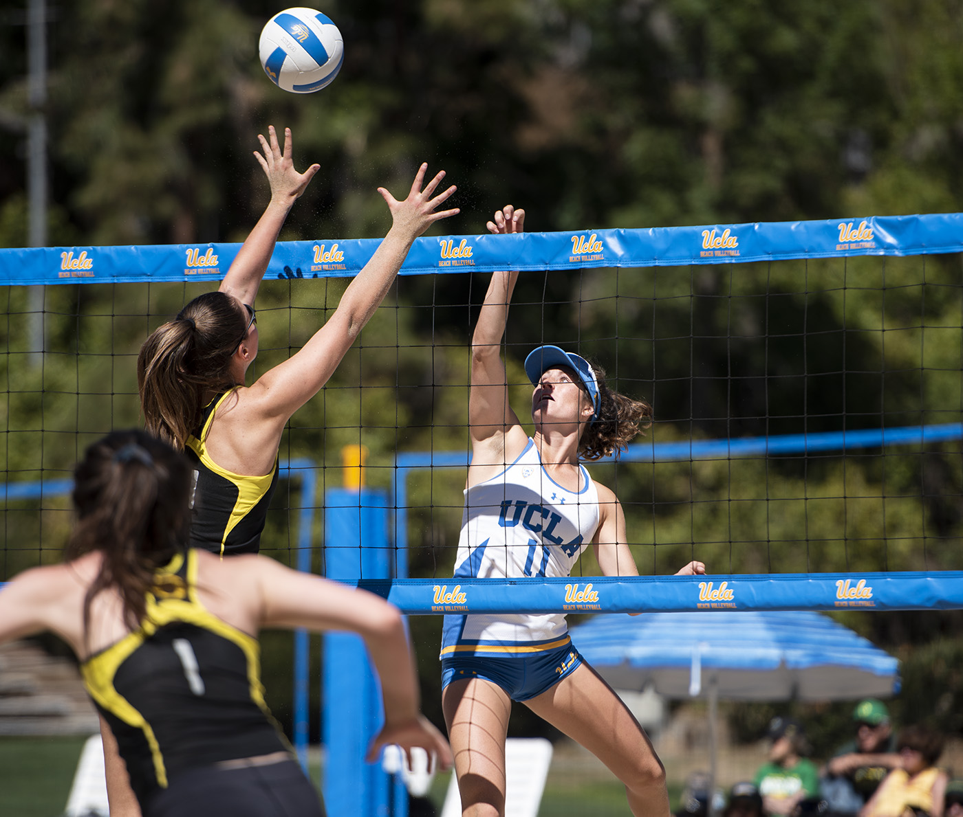 Beach volleyball returns to sand, to livestream 1st match against Long Beach State - Daily Bruin