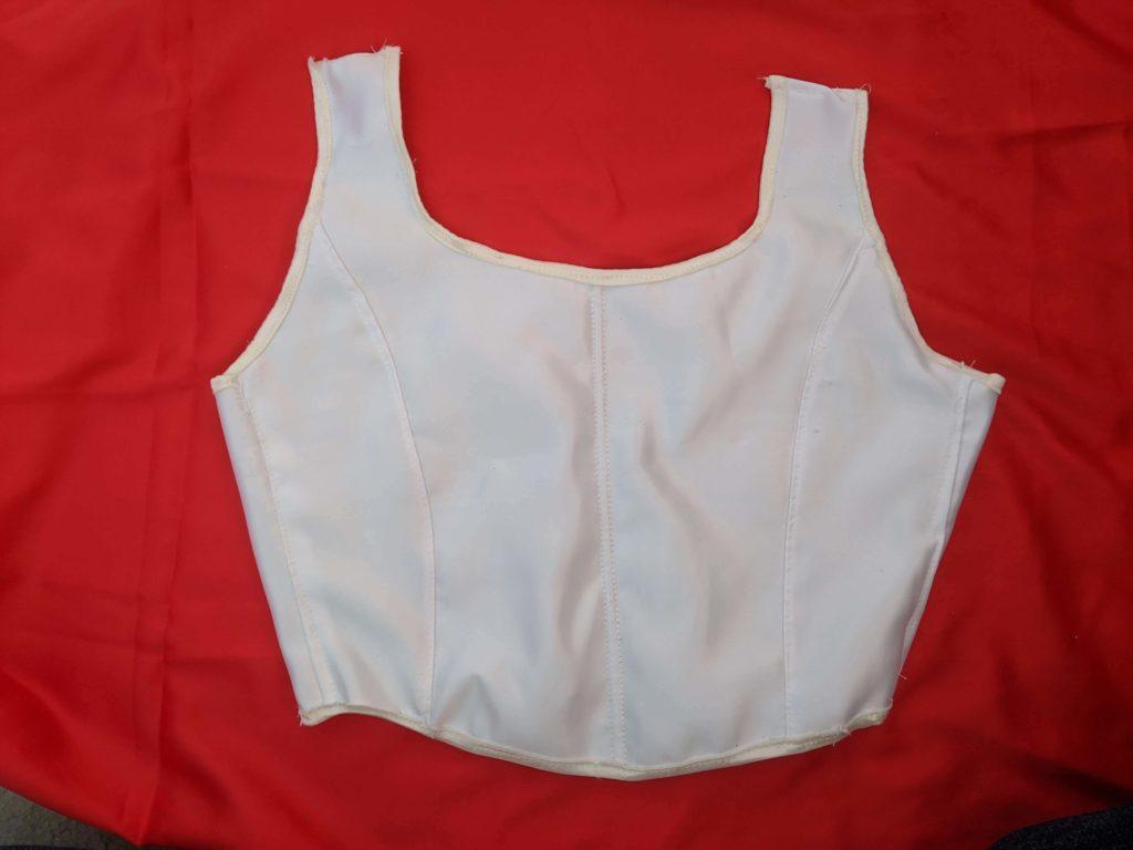 A corset Nan sewed. (Courtesy of Nancy Nan)