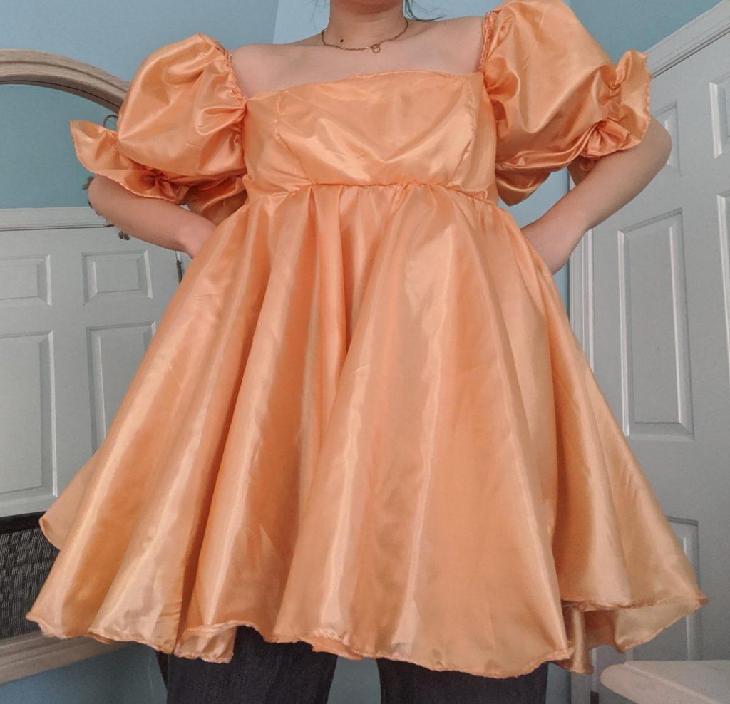 A dress Nan sewed. (Courtesy of Nancy Nan)