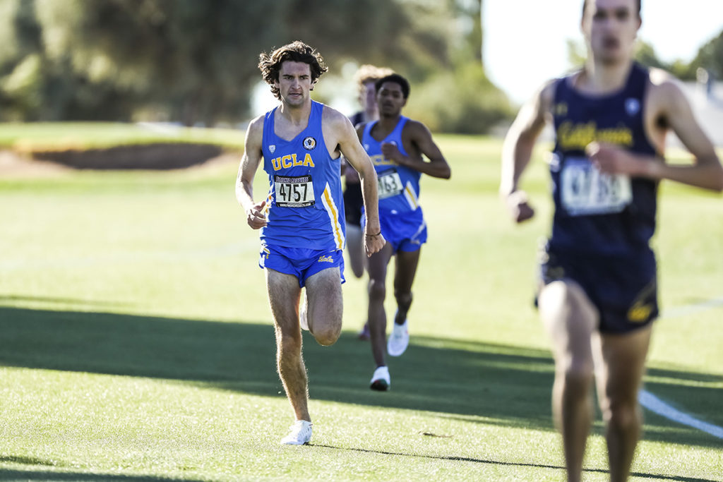 Ucla men's cross country will be returning its entire squad from last year and will look to reclaim its spot near the top of the conference. (Courtesy of Mike Christy/Arizona Athletics)