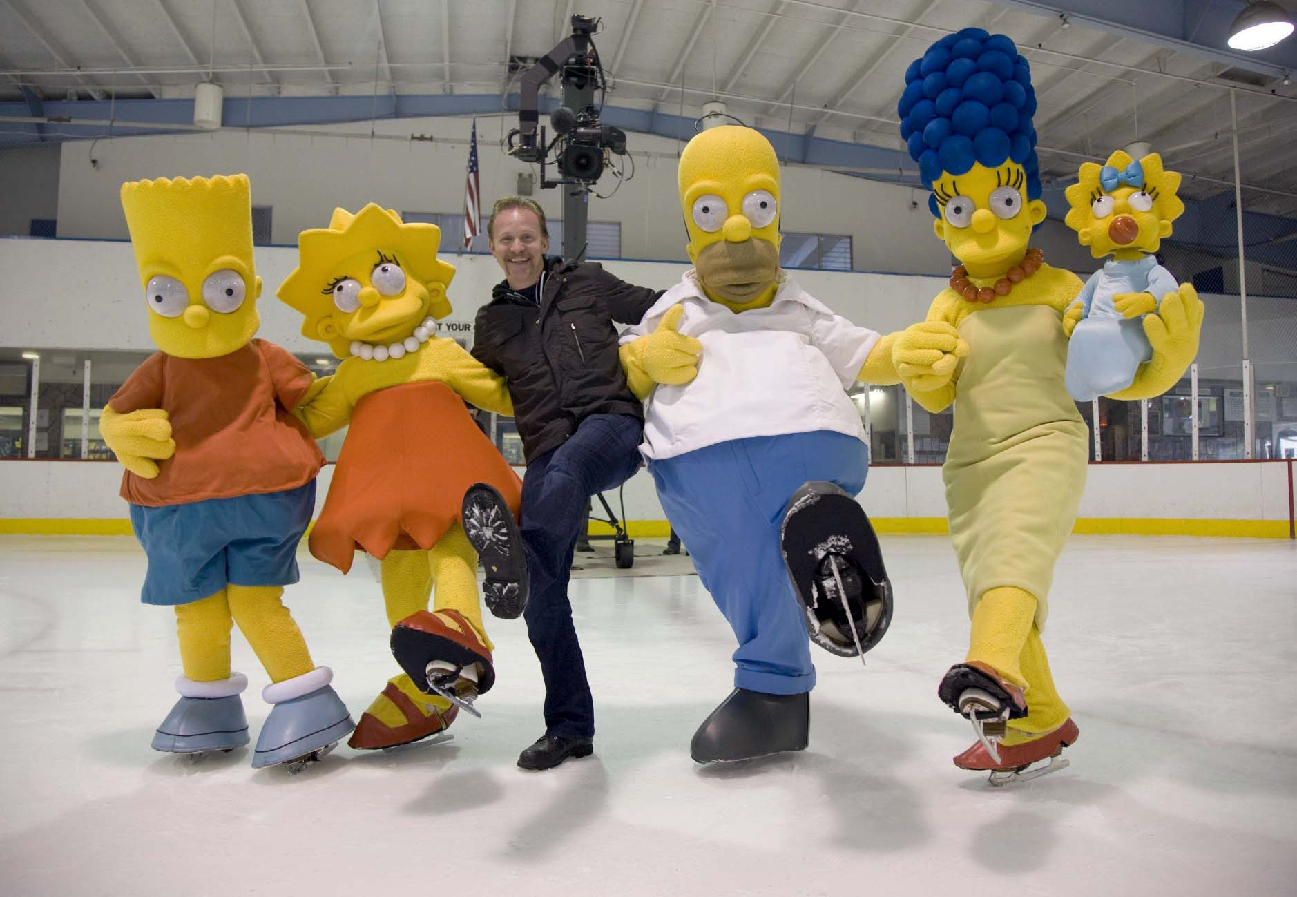 "Highly influential as America's longest-running sitcom, Fox's ""The Simpsons"" will be celebrating its 20th anniversary this year with a documentary by Morgan Spulock (center)."