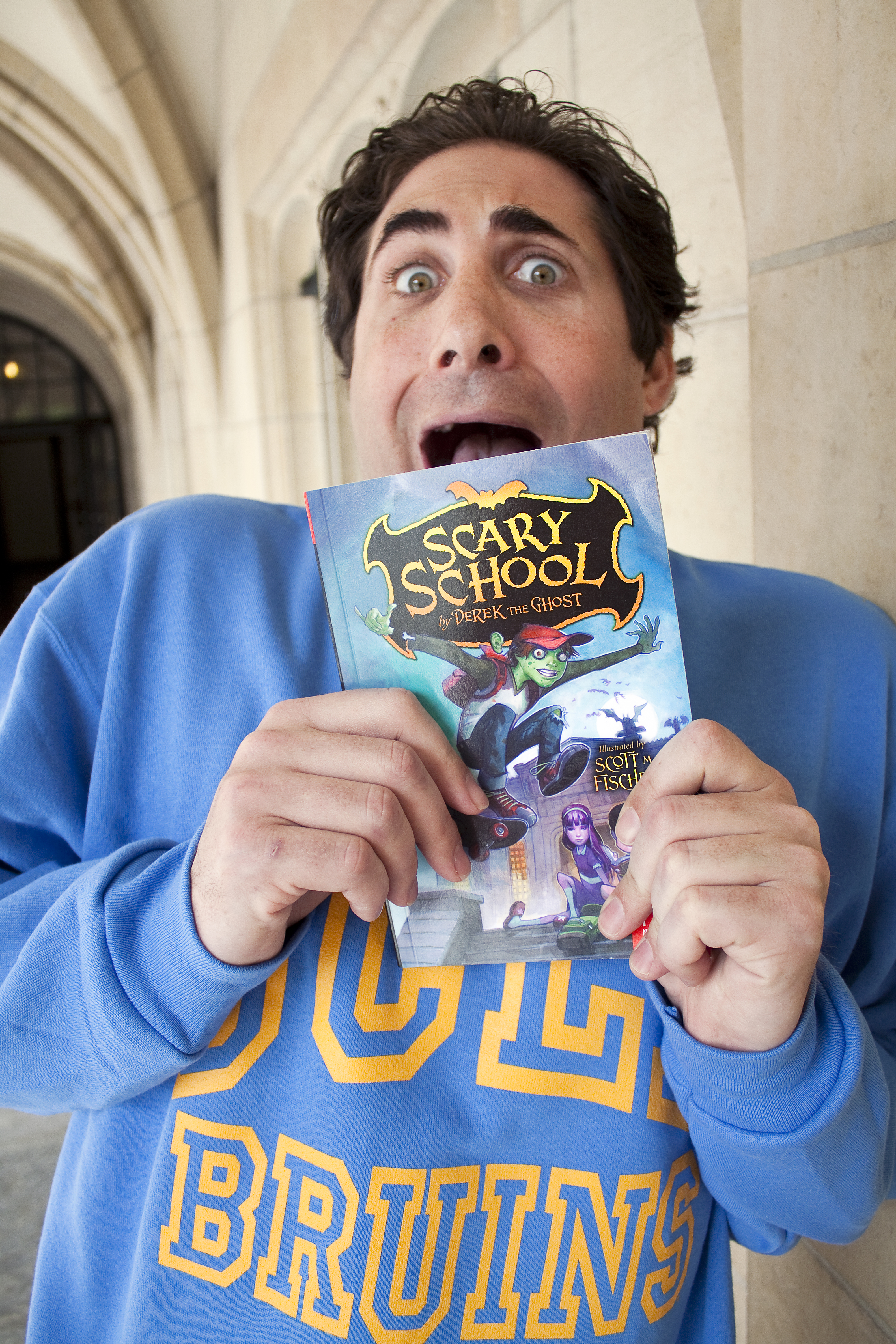 "UCLA School of Theater, Film and Television alumnus Derek Taylor Kent is the author of a series of young adult books titled ""Scary School."" The books center around an elementary school populated by humans and monsters and is narrated by a ghost that patrols the school grounds."