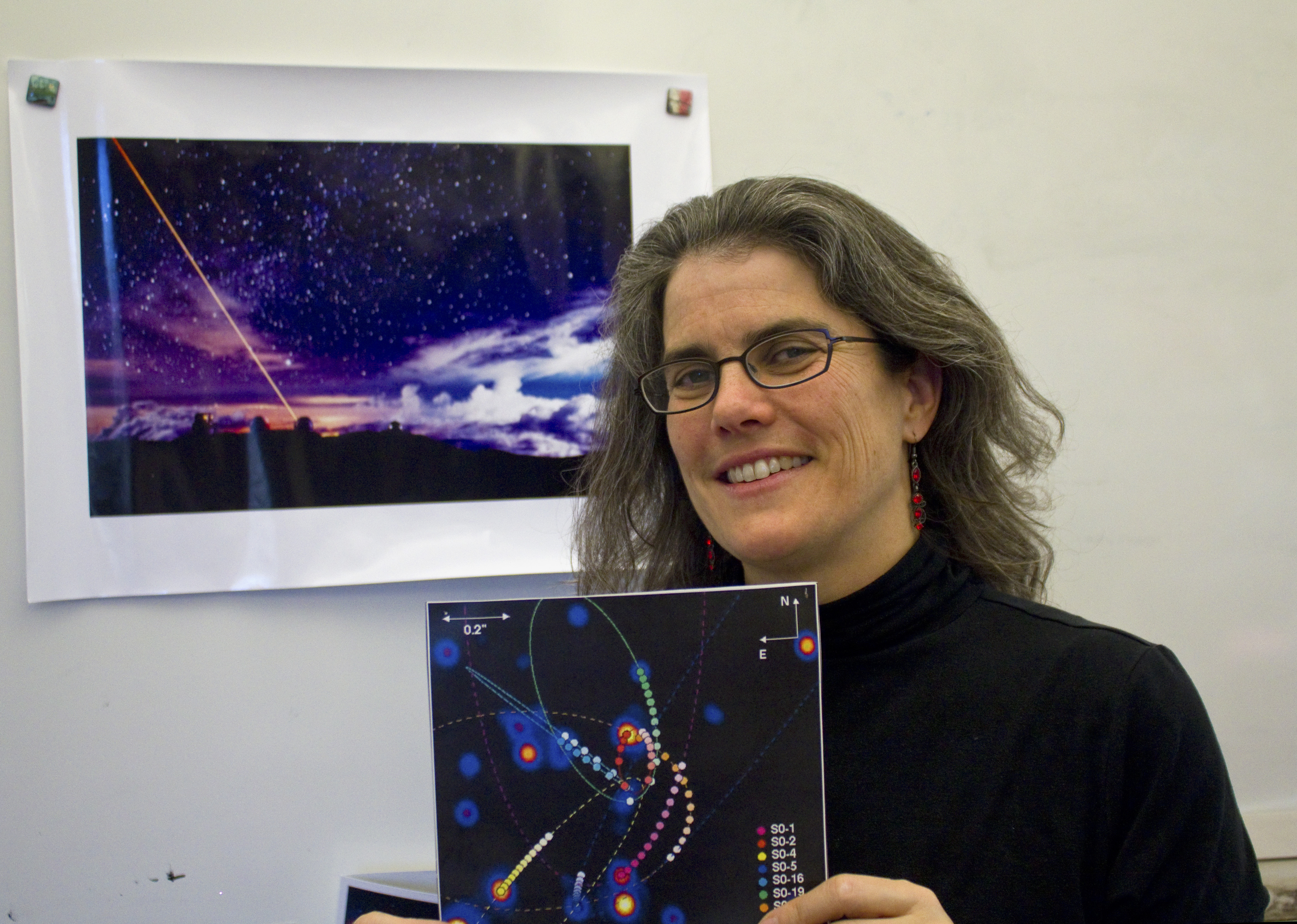Ucla Astrophysicist Andrea Ghez Becomes The First Woman To Win The Crafoord Prize Daily Bruin