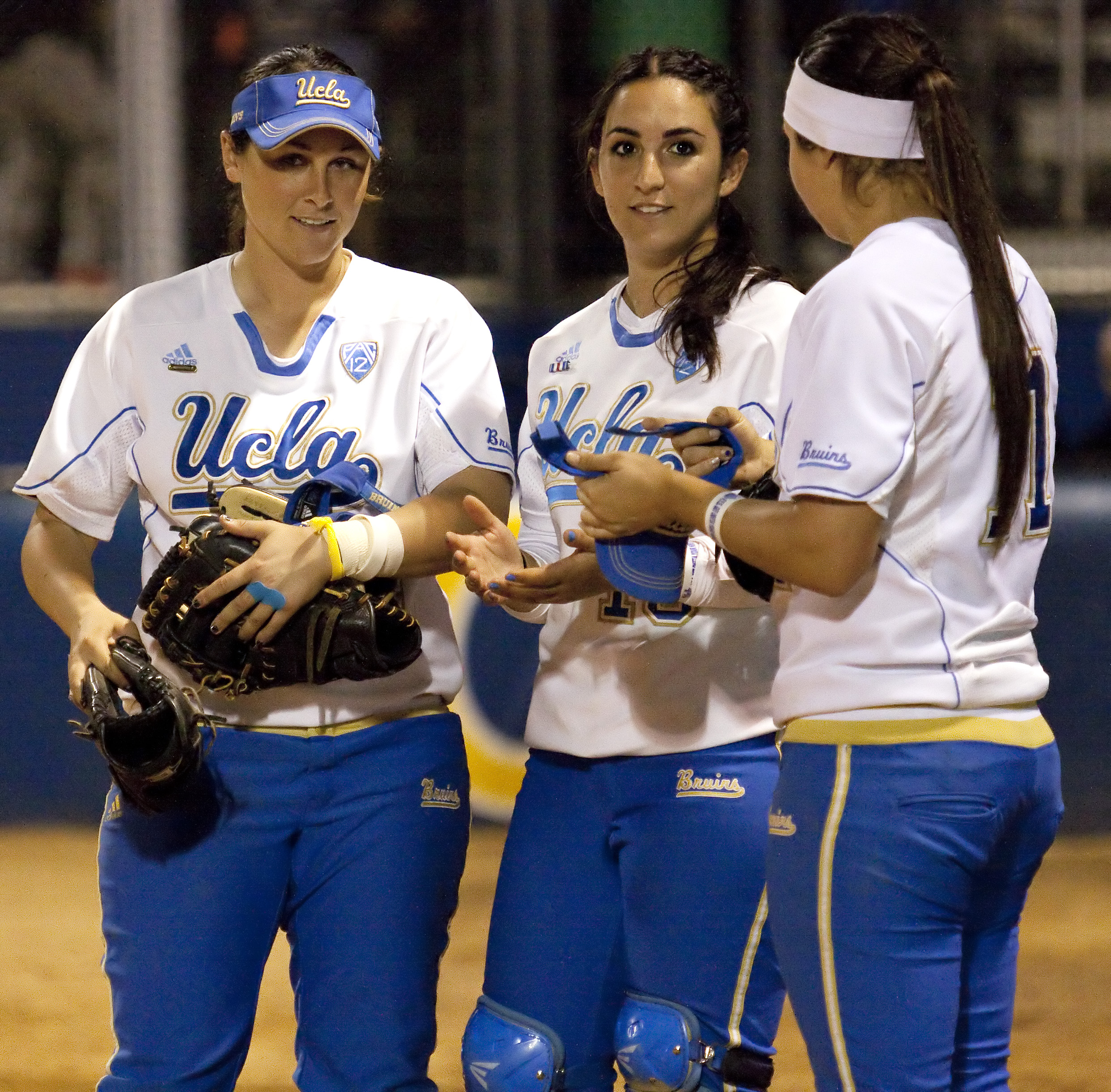 Senior utilities Dani Yudin and Andrea Harrison and freshman infielder Stephany LaRosa will lead the No. 12 Bruins into regional play against Hofstra today at Easton Stadium.