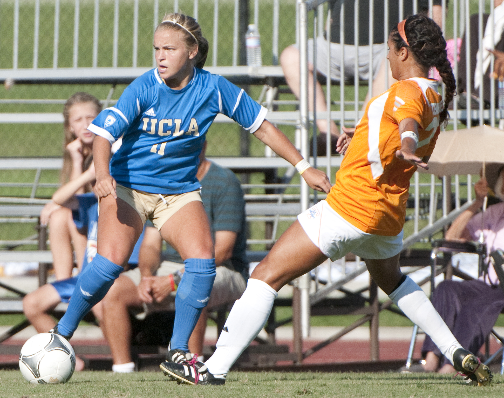 Senior midfielder Chelsea Cline and the women's soccer team take on the Arizona Wildcats in Tucson, Ariz. at 7 p.m.