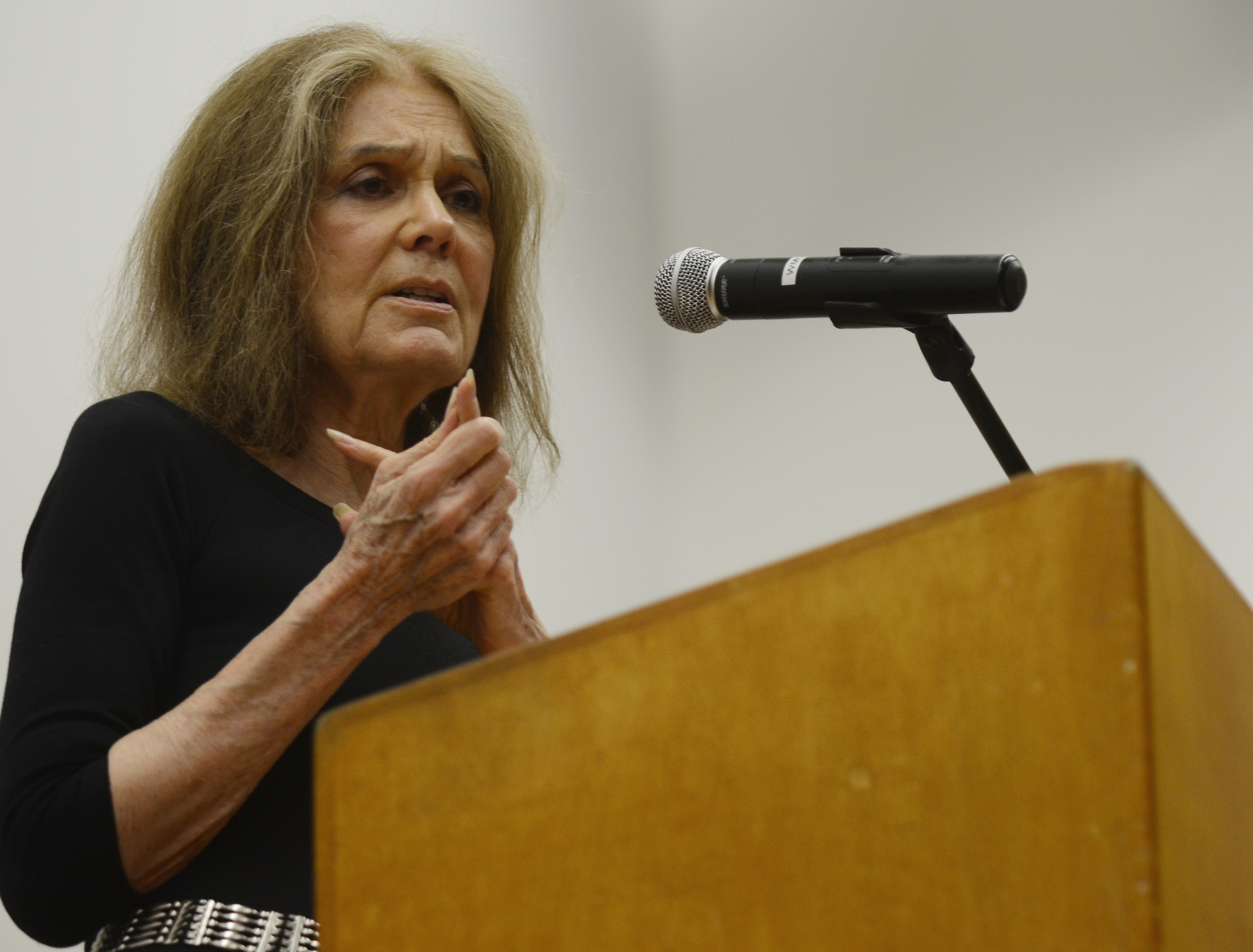 Feminist author and activist Gloria Steinem spoke at UCLA's Broad Art Center Sunday night to a full auditorium. In her speech, Steinem emphasized the importance of the upcoming November election for women's rights and causes, such as access to family planning and bodily autonomy.
