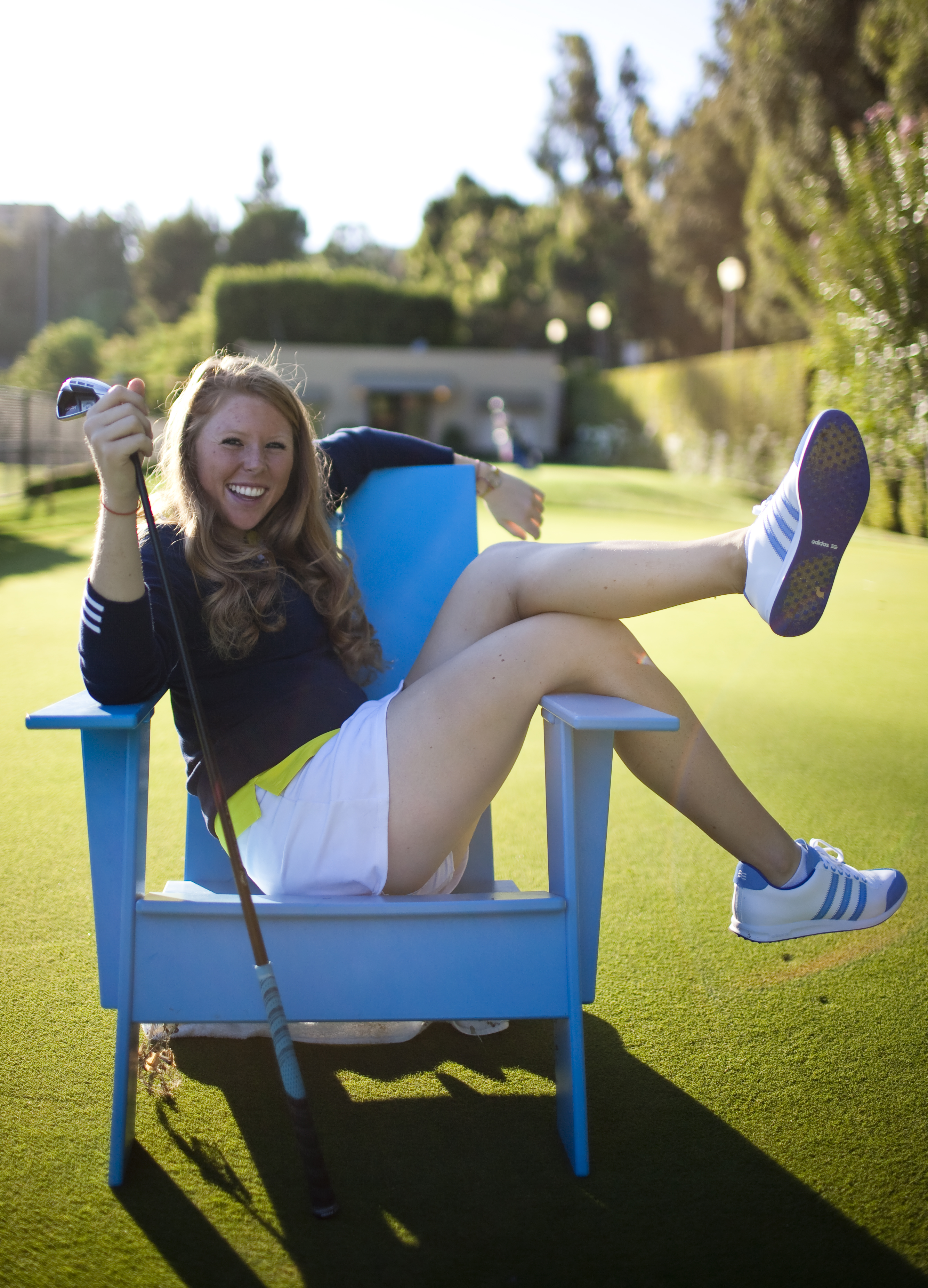 Freshman golfer Jacquie LeMarr gave up scholarship offers and decided to walk on UCLA women's golf to play for coach Carrie Forsyth.