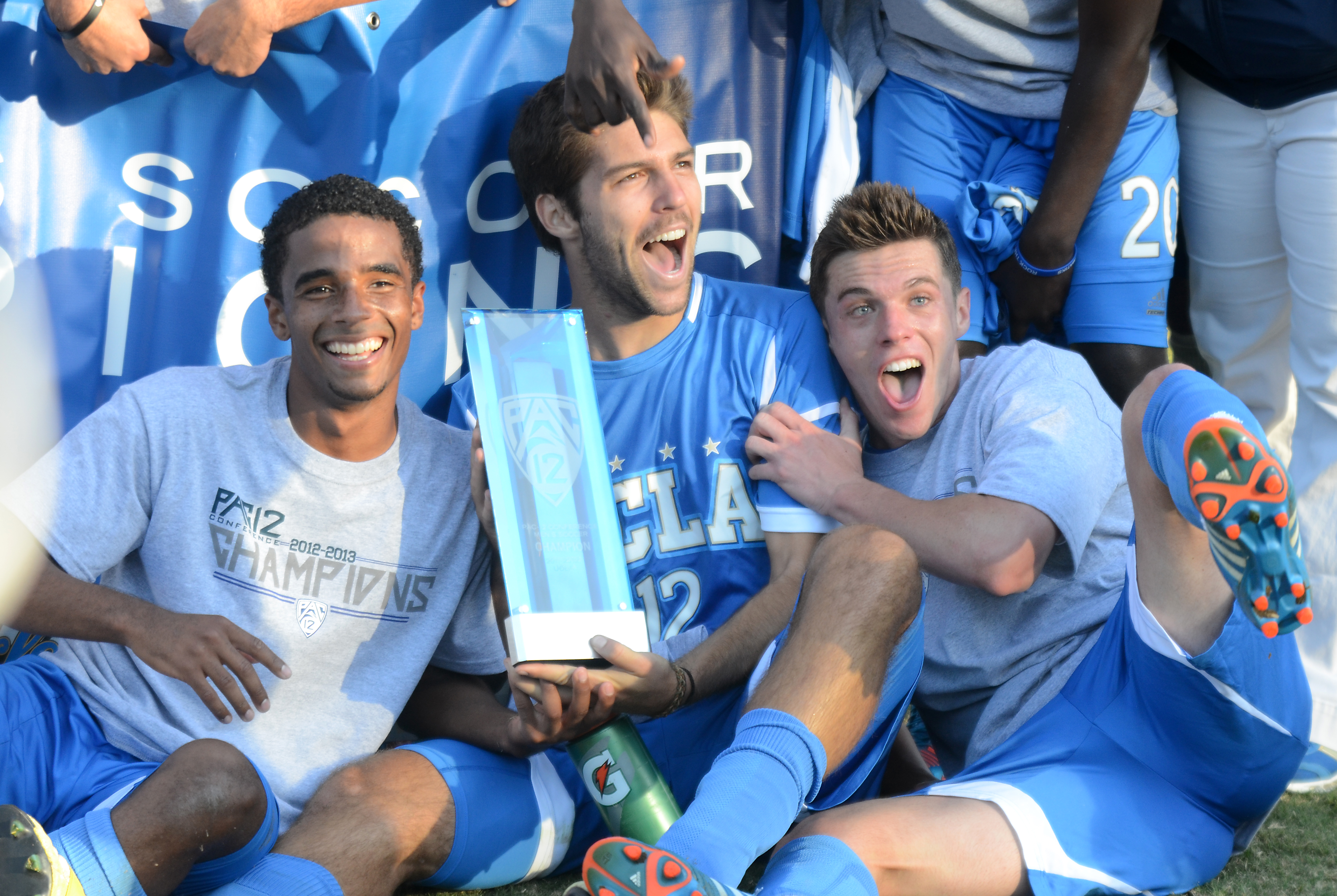 UCLA men's soccer beat San Diego State on Friday, a win they needed in order to snag the Pac-12 conference title.