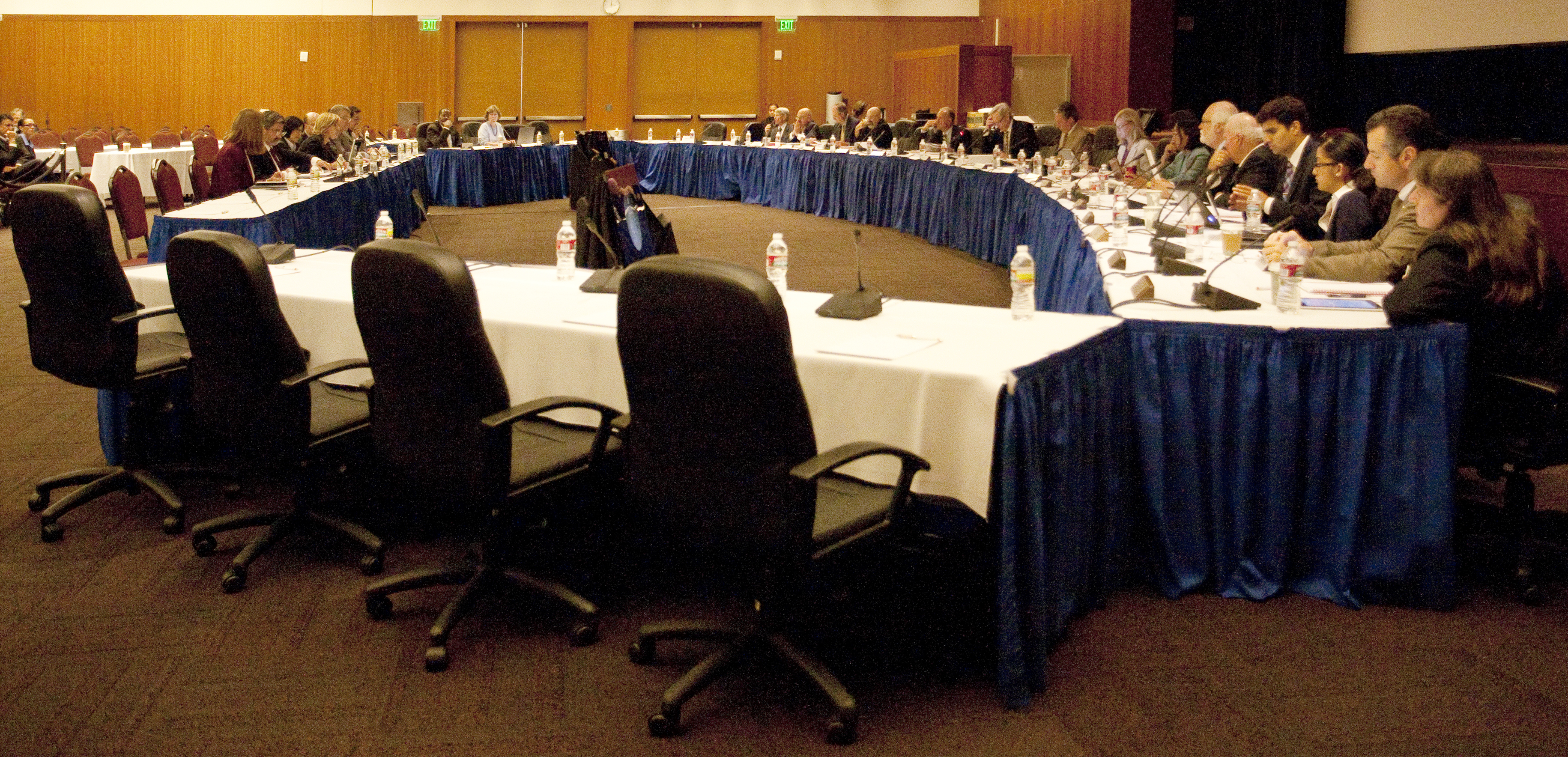 The UC regents discussed budget issues at their September meeting. On Wednesday, the committee on finance approved the 2013-14 budget.