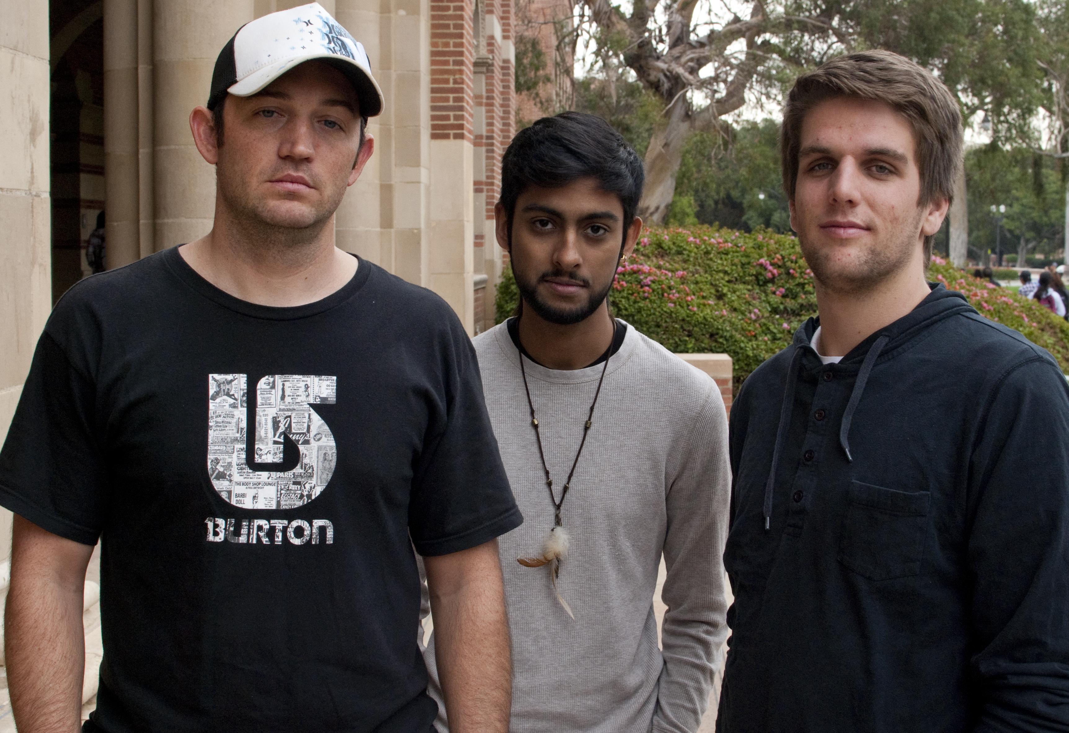 Colin Douglas, Pavin Kang and Andrew Neeld are the founding members of UCLA's EDM club, a group dedicated to providing a forum for students with a passion for electronic dance music.