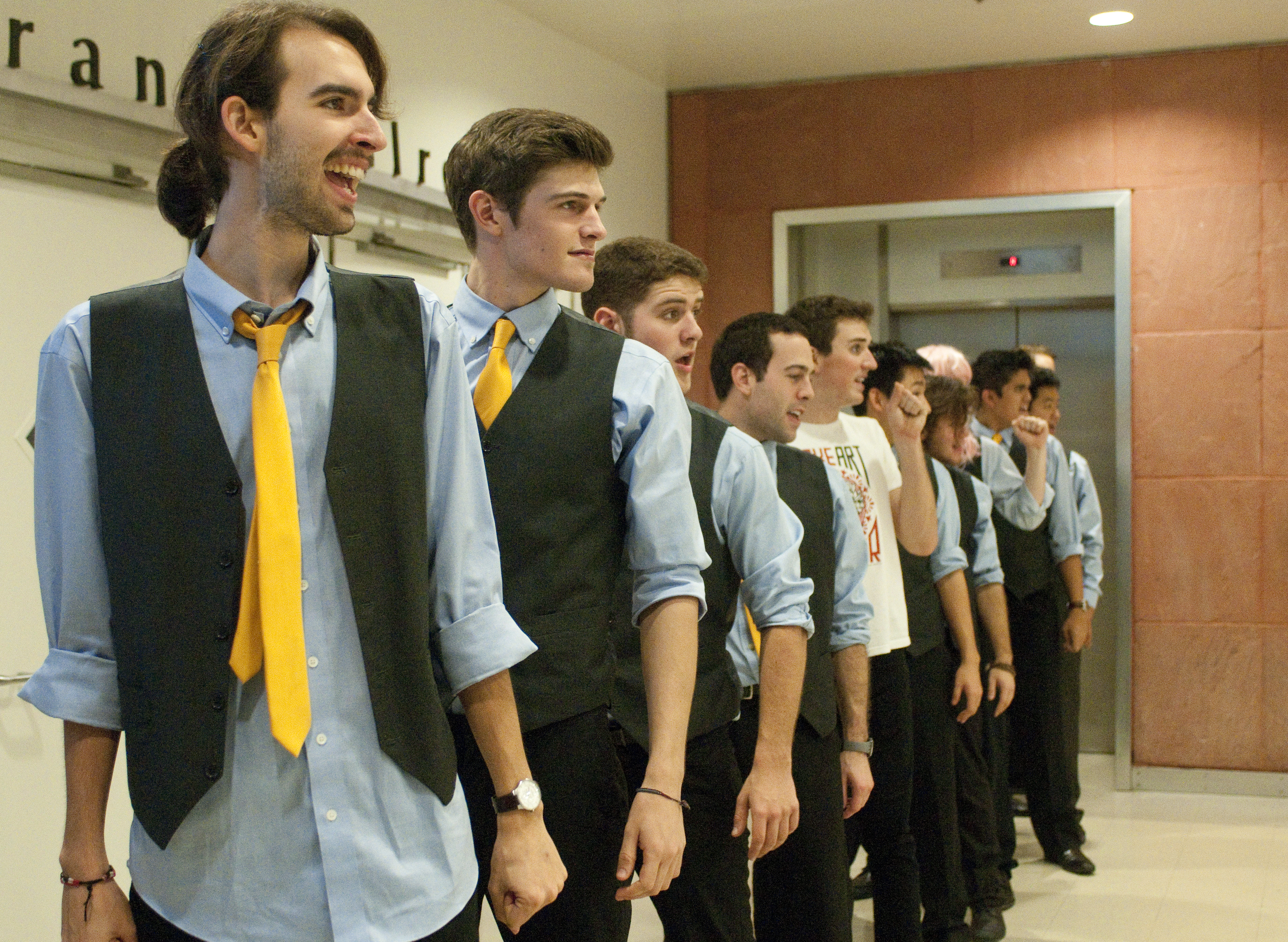 Bruin Harmony is holding its annual fall concert in the Charles E. Young Grand Salon today. Doors open at 8 p.m. and the performance will feature the Scattertones, along with a pudding eating contest, audience prizes and even a secret musical guest.