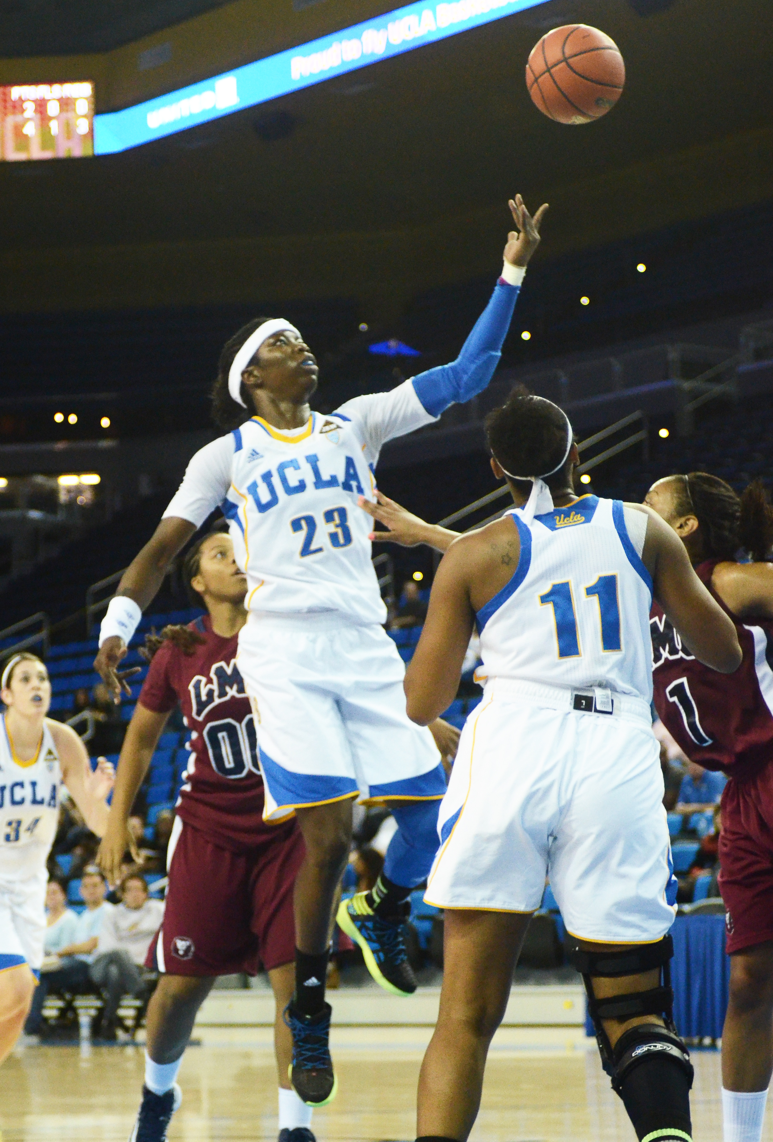 Markel Walker and the UCLA women's basketball team have stressed defense ahead of their road game against No. 12 Texas. Already this season, UCLA has knocked off a ranked opponent away from home, giving the team confidence that it can win games on the road.
