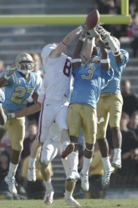 UCLA 23-20 win in the final seconds over the Stanford Cardinal